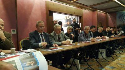 Əflatun Amaşov Türk Dünyası Sənədli Filmlər Festivalının toplantısında FOTO