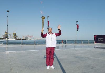 Prezident İlham Əliyev yenidən Azərbaycan Milli Olimpiya Komitəsinin prezidenti seçilib