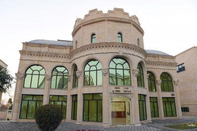 Ильхам Алиев с супругой приняли участие в открытии нового здания шахматной школы в Тертере