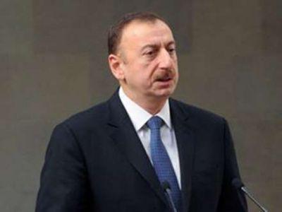 Prezident Ağdamda səfərdədir