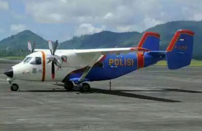 İndoneziyada polis təyyarəsi qəzaya uğradı