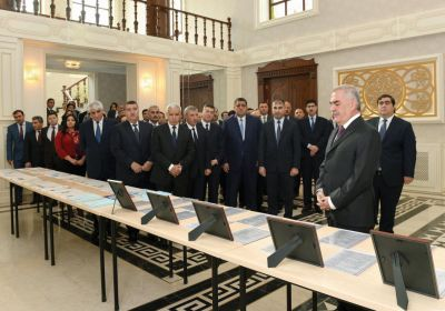 Naxçıvanda Eynəli bəy Sultanovun 150 illik yubileyi qeyd olunub