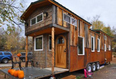 Təkər üstündə kompakt ev