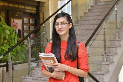 Президентский стипендиат – студент БВШН: «Я мечтала набрать этот балл на вступительных экзаменах»