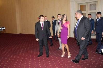 Лейла Алиева: Азербайджан и Россию связывают долгие годы дружбы