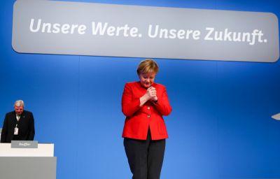 Angela Merkel 9-cu dəfə sədr seçildi
