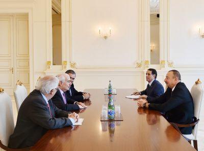Президент Азербайджана принял Андреса Пастрана