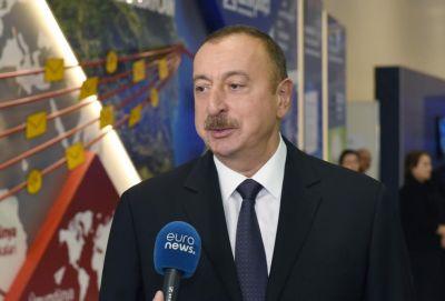 Ильхам Алиев: Азербайджан стал одной из стран-лидеров региона в сфере ИКТ - ВИДЕО
