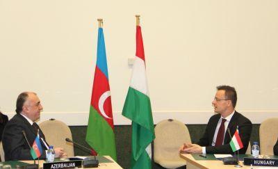 Эльмар Мамедъяров находится с визитом в Брюсселе