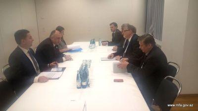 Глава МИД встретился со специальным представителем ЕС