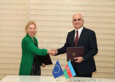 Азербайджан подписал 14,5-миллионое соглашение с ЕС