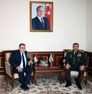 Закир Гасанов встретился с послом Венгрии в Азербайджане