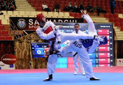 Milad Beigi Harçeqani qızıl medal qazandı!