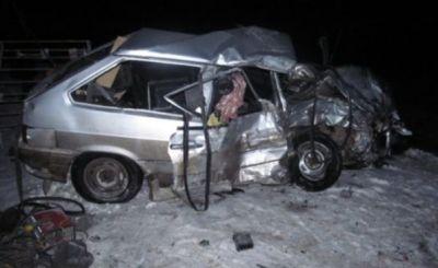 Rusiyada dəhşətli yol yol qəzası: 7 nəfər öldü