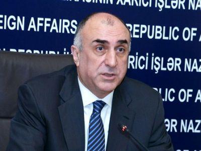 Глава МИД Азербайджана встретился с французским сопредседателем МГ ОБСЕ
