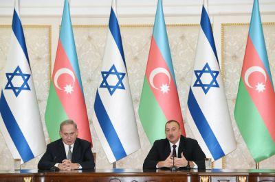 Ильхам Алиев и Биньямин Нетаньяху выступили с заявлениями для печати