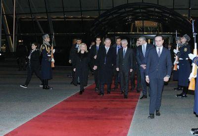 Завершился визит премьера Израиля в Азербайджан