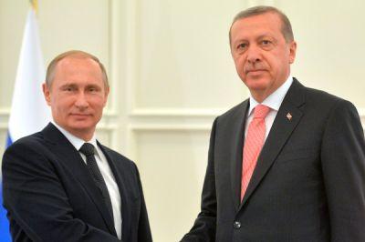 Путин и Эрдоган обсудят ситуацию в Алеппо