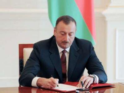Ильхам Алиев наградил группу сотрудников МЧС