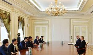 Ильхам Алиев принял министра экономики Турции