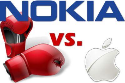Nokia подала иск против Apple