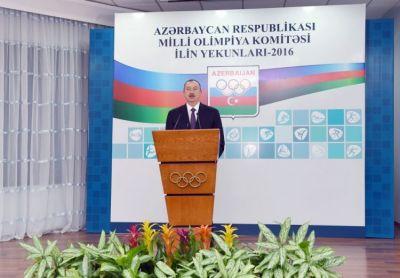 """Ильхам Алиев: """"Уровень бакинских Евроигр не ниже уровня любых Летних олимпийских игр"""""""