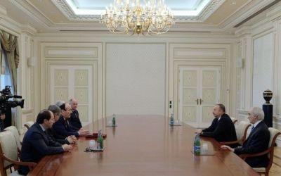 Ильхам Алиев принял главу Дагестана Фотографии