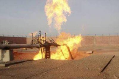 МЧС: Тушение пожара на газопроводе продолжается
