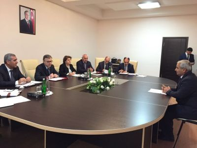 Гусейн Багиров встретился с гражданами в Зардабе Фотографии