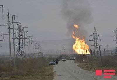 Пожар на магистральном газопроводе потушен
