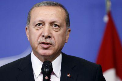 Эрдоган назвал неприемлемой помощь США террористам