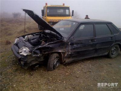 Goranboyda yol-nəqliyyat hadisəsi baş verib