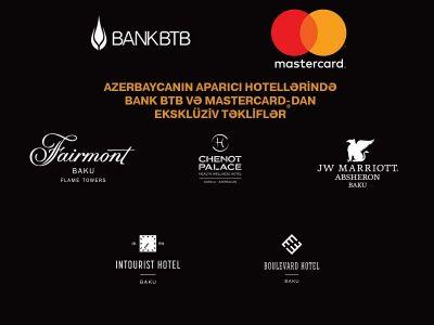 """Bank BTB """"MasterCard"""" sahiblərinə yeni üstünlüklər qazandırmağa davam edir!"""