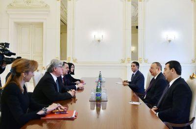 Ильхам Алиев принял содокладчиков Мониторингового комитета ПАСЕ
