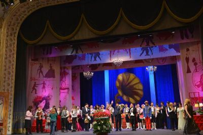 """Musiqili Teatrda """"Silva"""" tamaşasının premyerası keçirilib FOTOLAR"""