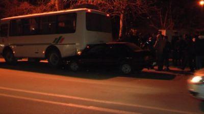 SOСAR-ın avtobusu qəzaya düşdü