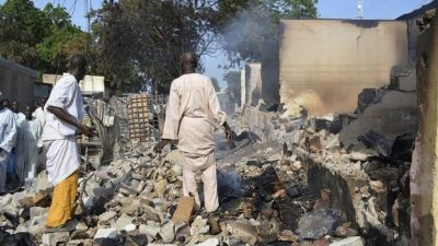 Мощные взрывы в Нигерии, есть погибшие