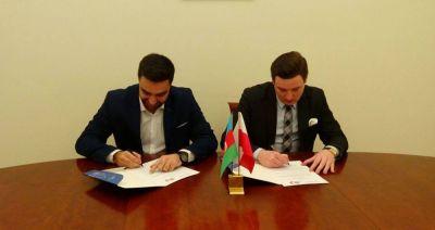 Azərbaycan və Polşa tələbə təşkilatları arasında əməkdaşlıq sazişi imzalanıb