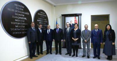 AŞ nümayəndələri ilə Penitensiar xidmətdə növbəti görüş - FOTOSESSİYA