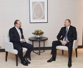Президент Азербайджана встретился с министром Саудовской Аравии