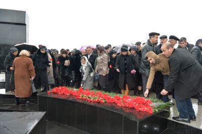 Lənkəranda 20 yanvar şəhidlərinin xatirəsi anılıb