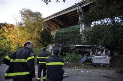 Крупное ДТП в Италии, погибли дети