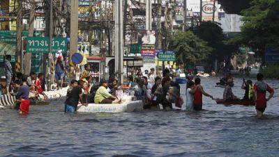 Возросло число жертв наводнения в Тайланде