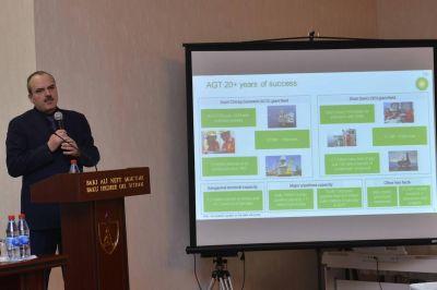 Вице-Президент BP выступил в БВШН с презентацией  - Фотографии