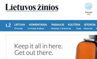 Litva mətbuatı 20 Yanvar faciəsindən yazıb
