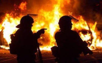 Nərimanov rayonunda 3 otaqlı ev yanıb