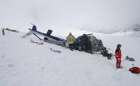 İtaliyada daha bir helikopter qəzaya uğradı