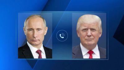 Трамп и Путин планируют телефонный разговор в выходные