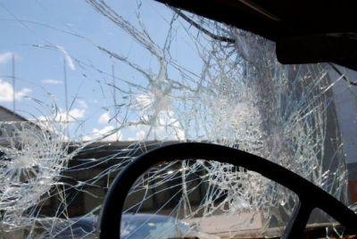 Цепная авария на шоссе Баку-Сумгайыт Фотографии