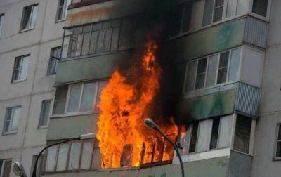 Сильный пожар в Баку, есть пострадавшие